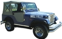 Jeep Fiberglass CJ5 Body, Complete Kit 1951 thru 1971