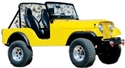 Jeep CJ5  Fiberglass Replacement Body, Complete Kit 1972 thru 1975