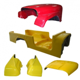 Jeep Fiberglass Replacement Body Kits
