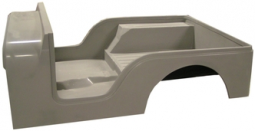 Jeep Fiberglass Replacement Body Tub