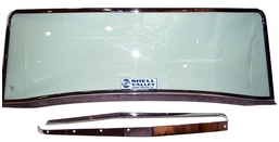 Cobra Replica Windshield, Windwings & Sunvisors