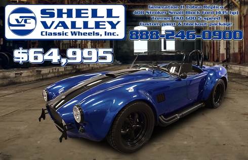 Shell Valley Cobra Replica