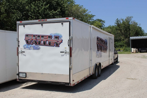 2012 Hurricane Enclosed Trailer