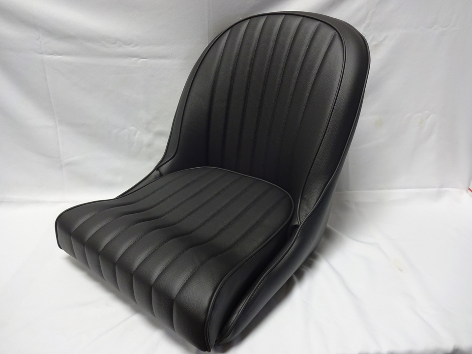 cobra replica upholstered seats seat shells and seat tracks. Black Bedroom Furniture Sets. Home Design Ideas