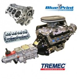 Cobra Replica RRP/Blue Print Engines and Tremec Transmission Package