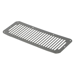 Jeep Stainless Steel Hood Vent