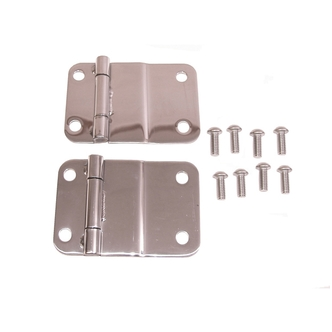Jeep Stainless Steel Lower Tailgate Hinges
