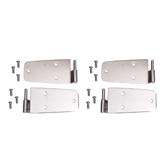 Jeep Stainless Steel Hardtop Door Hinges