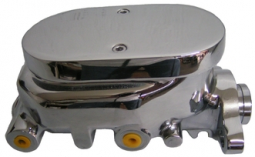 Corvette Style Polished Aluminum Master Cylinder