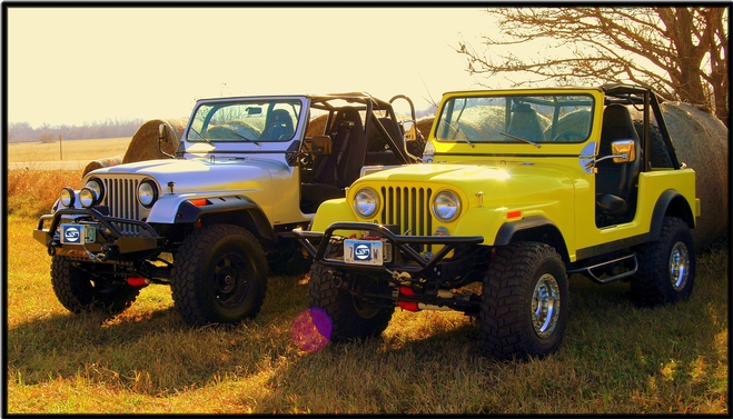 Rick and Dick M. Jeep