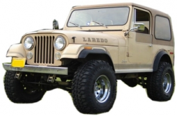 Jeep CJ7 Fiberglass Body Complete Kit