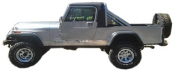 Jeep CJ8 Scrambler Fiberglass Body