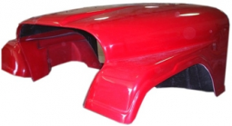 Fiberglass Jeep CJ7 One Piece Front End