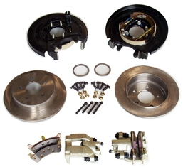 """Mounts Ford SVO brakes to a 9"""" Ford rear end. Includes 11 1/2"""" rotors ..."""