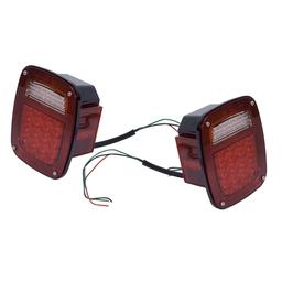 Jeep LED Tail Light Assemble Set