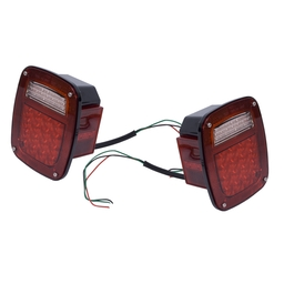 Jeep LED Tail Light Assemble Set