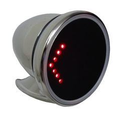 Side Bullet Mirror with LED Turn Signal