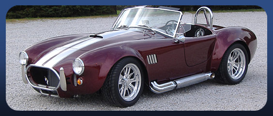 Cobra Kit Car >> Cobra Replica Kits