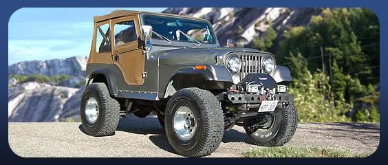 Jeep Parts, Bodies, & Accessories