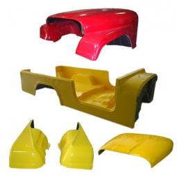 Jeep Fiberglass Replacement Body Kits