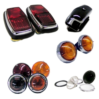 Cobra Replica Headlights, Tail Lights and Park Lights
