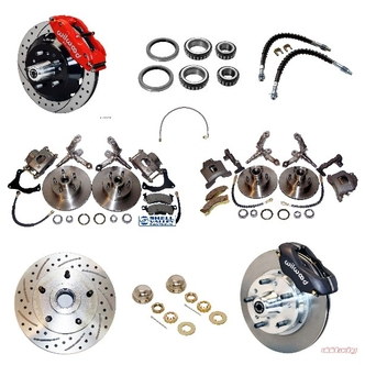 Cobra Replica Front Brake Kits, Rotors, Calipers and Accessories