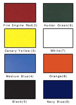 Jeep Color Chart