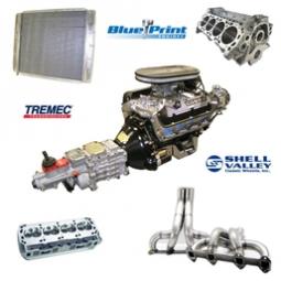 Cobra Replica Engine-Transmission-Cooling