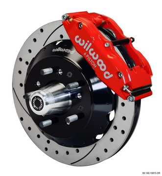 Daytona Coupe Replica Front Brake Kits, Rotors, Calipers and Accessories