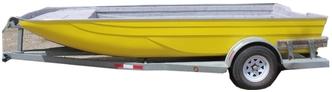 Fiberglass Airboat