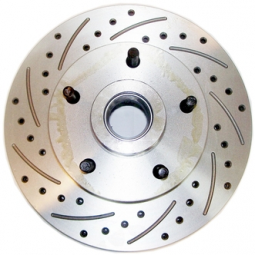 """11"""" Drilled and Slotted Granada 5 Bolt Rotors"""