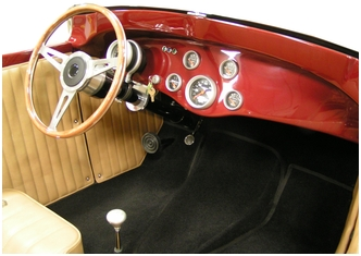 29 A Roadster Replica Carpet Kit