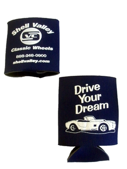 Shell Valley Classic Wheels Inc. Can Koozie