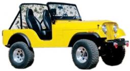 Jeep CJ5  Fiberglass Replacement Body, Complete Kit 1972 thru 1975