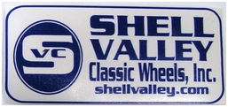 Shell Valley Classic Wheels Sticker