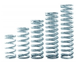 "QA1 2-1/2"" I.D. Polished and Chrome Coil Spring"