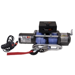 Rugged Ridge Heavy Duty 8,500 LB Winch with Synthetic Rope